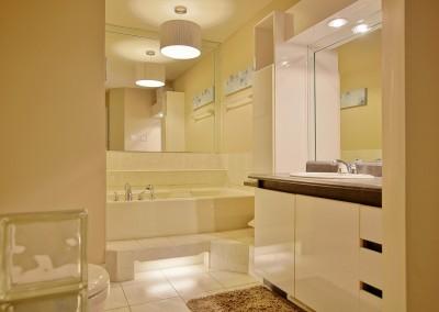 Salle de bain - Avant les rénovations