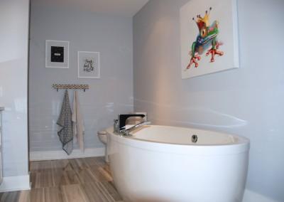 Salle de bain - Après les rénovations